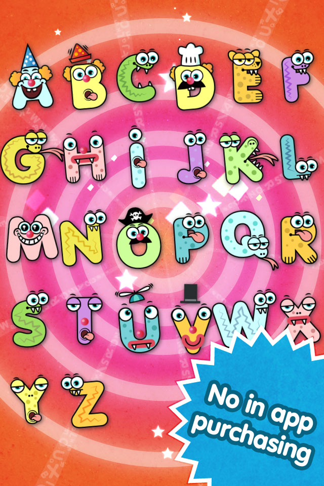 Screenshot Pop ABCs – Letters & Letter Sounds