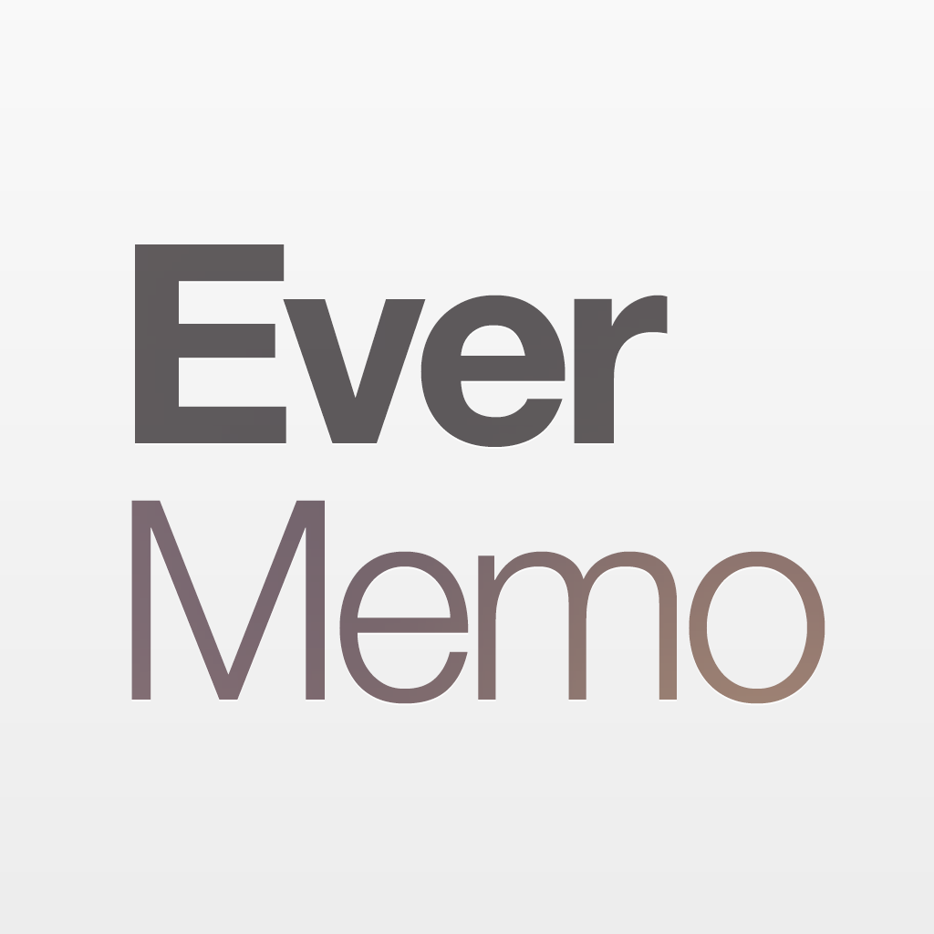 EverMemo · A simple memo with Evernote